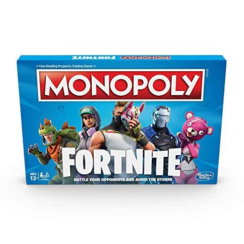 Monopoly E6603102 Fortnite Edition Board Game, Multi-Colour