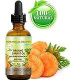 Orgánica zanahoria aceite. 100% puro/Natural/Sin Diluir. Para Cuidado De La Piel, Cabello, Labios y Uñas. 0.5fl. oz-15ml