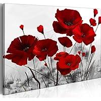 murando – Impression sur toile 100x70cm - 1 piece - Image sur toile - Images - Photo - Tableau - motif moderne - Décoration - tendu sur chassis - Fleurs 0107-12