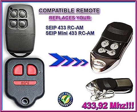 SEIP 433 RC-AM / SEIP mini 433 RC-AM kompatibel handsender, ersatz fernbedienung 433.92Mhz rolling code!!! Beste Preis!!!