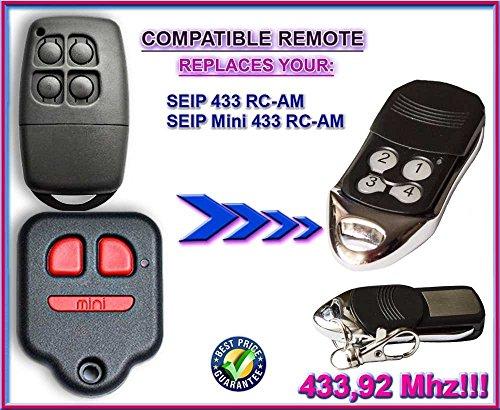 Preisvergleich Produktbild SEIP 433 RC-AM / SEIP mini 433 RC-AM kompatibel handsender, ersatz fernbedienung 433.92Mhz rolling code!!! Beste Preis!!!