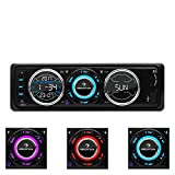 auna MD-180-BT • Autoradio • Car-Radio • Bluetooth • USB- / SD-Port • UKW-Radiotuner • MP3 • AUX-Eingang • 2 x Line-Ausgang • Freisprechanlage • weiß