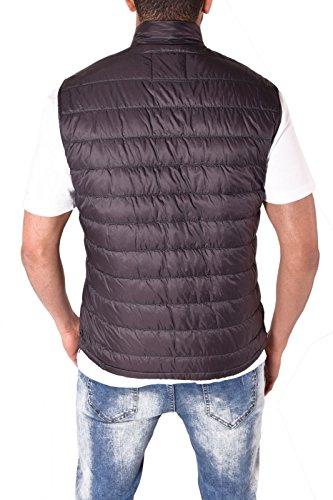 Unknown - Manteau sans manche - Doudoune - Homme gris foncé