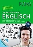 PONS Audiotraining Plus Englisch: Für Anfänger und Fortgeschrittene - hören, leichter verstehen und besser sprechen. Für unterwegs.