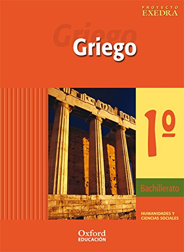 Griego 1º bachillerato exedra libro del alumno