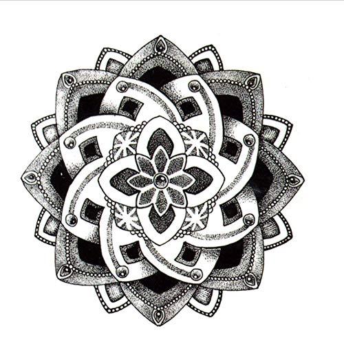Ruofengpuzi Adesivo tatuaggioLotus Impermeable Tatuaje