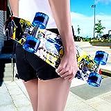 ENKEEO 57cm Mini Cruiser Board Skateboard mit stabilen Deck 4 PU-Rollen für Kinder, Jugendliche und Erwachsene - 9