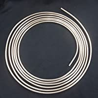 5m Tubo de Freno Ø 6,0 mm Cobre-Níquel DIN 74 234 Tubos de Cuproníquel para Frenos Accesorios de Reparación por el Sistema de Frenado Tuberia del Freno de Recambio