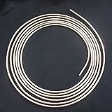 5m Tubo di Freno Ø 6,0 mm Rame-Nickel DIN 74 234 Tubi dei Freni di Cupronickel Accessori di Scambio per il impianto frenato Tubazione del Freno per Sostituzione e Cambio