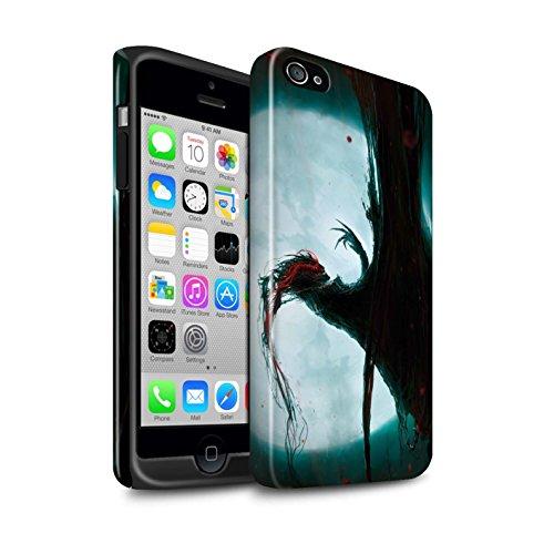 Offiziell Chris Cold Hülle / Glanz Harten Stoßfest Case für Apple iPhone 4/4S / Dramargu/Vollmond Muster / Dämonisches Tier Kollektion Dramargu/Vollmond