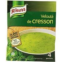 Knorr Soupe Velouté de Cresson pour 4 personnes 53 g - Lot de 14