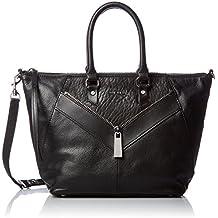 Diesel - le-zipper Le-ninna Handbag, Bolsos de mano Mujer, Black