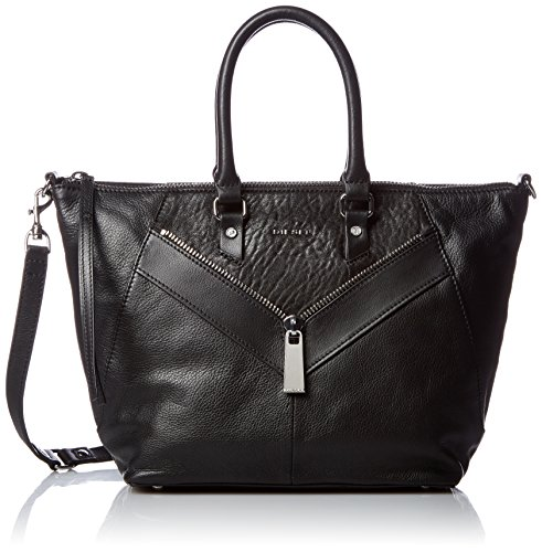 Diesel Damen Zipper Le-Ninna-Handbag Shopper, Schwarz (Black), 13x25x38 cm (Diesel Damen Handtaschen)
