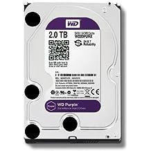 WD WD20PURX Purple Hard Disk per Videosorveglianza, Intellipower, SATA 6