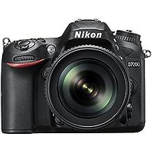 Nikon D7200 Digital SLR Camera (24.2 MP, 18-105 mm VR Lens, Wi-Fi, NFC) 3.2-Inch LCD Screen (Renewed)