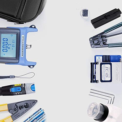 Wenwenzui-ES LWL-Kaltstellen-Werkzeugsatz LWL-Kühlgeräte schwarz