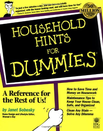 Household Hints for Dummies<