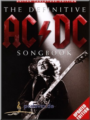 The Definitive AC/DC Songbook - Updated Edition - Gitarre Noten [Musiknoten]