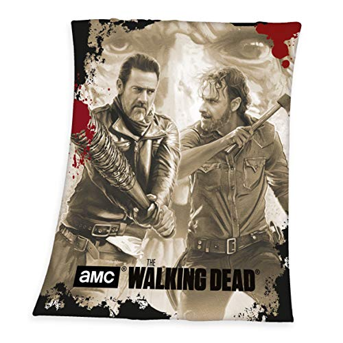 Herding THE WALKING DEAD Fleece-Kuscheldecke, 130 x 160 cm, Polyester