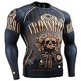 Fixgear Sports Kompression Performance Funktionsunterwaesche Shirt Herren Damen Langarm S