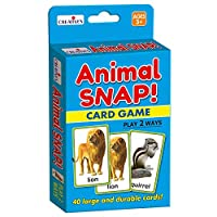 Creative flash cards- animal snap - Multi-Colour