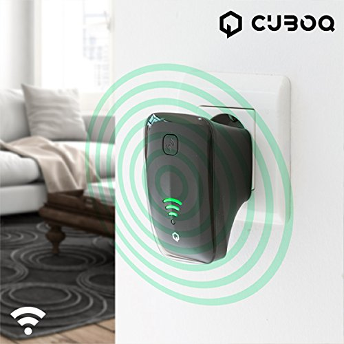CuboQ IG111023 WLAN-Repeater (300Mbps, Frequenz: 2,4-2,4835GHz)