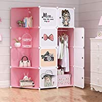 ANIUXIAOGE Armario De Almacenaje para Niños De Niña Dormitorio De La Habitación Dormitorio Simple Armario Simple