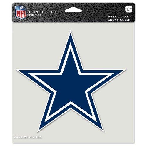 Wincraft NFL Dallas Cowboys Aufkleber 10 x 10 cm