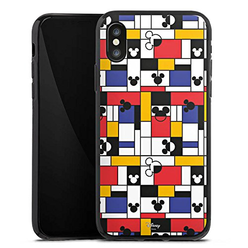 Apple iPhone X Silikon Hülle Case Schutzhülle Disney Mickey Mouse Geschenke Merchandise Silikon Case schwarz