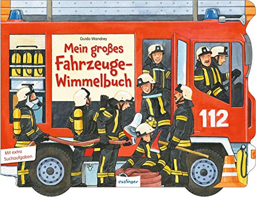 Mein großes Fahrzeuge-Wimmelbuch