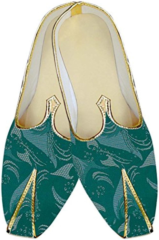 INMONARCH Cerceta Hombres Boda Zapatos Impreso MJ010566
