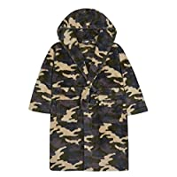 4 KIDZ Boys Camo Snuggle Fleece Dressing Gown (11-12 Years)