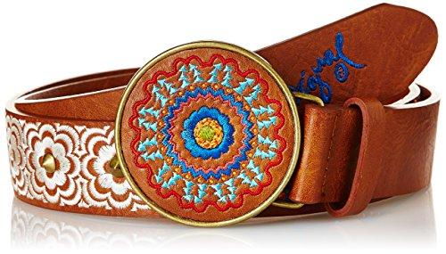 Desigual CINT_CHAPON BORDADO GEO-Cintura Donna    marrone 90 cm