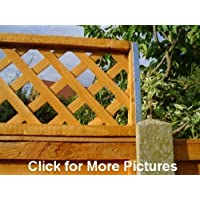 POSTFIX Trellis Fence Height Extension Arms VALUE PACK of 5 PAIRS - NO TRELLIS INCLUDED!