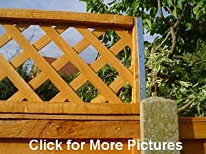 Postfix Trellis Fence Height Extension Arms Pair No