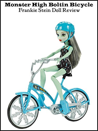 Review: Monster High Boltin Bicycle Frankie Stein Doll Review [OV]