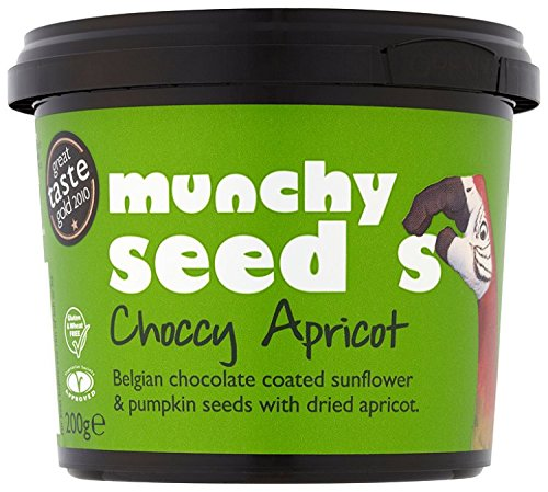 Munchy Seed Choccy with Apricot 200 g (Pack of 2)