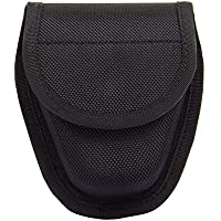 Handcuff Case, Duty Gear Single Hidden Handcuff Pouch, Funda de esposas para cinturón, Negro