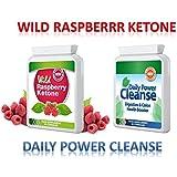 WILD RASPBERRY KETONE (60 CAPSULES) & DAILY POWER CLEANSE (60 CAPSULES) LIVRAISON RAPIDE GRATUIT