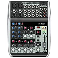 Behringer XENYX Q1002USB Mixer 2 MONO, 2 BUS with USB and FX
