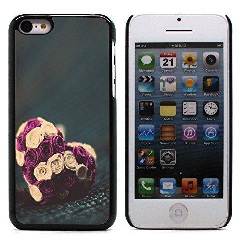 Graphic4You I Will love you Design Harte Hülle Case Tasche Schutzhülle für Apple iPhone 5C Design #14
