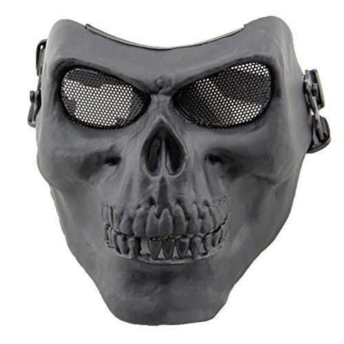 irsoft-Maske, Schädel-Skelett, gesamte Front (Halloween Maske Sammlung)