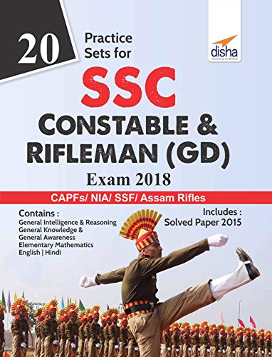20 Practice Sets for SSC Constable & Rifleman (GD) Exam 2018
