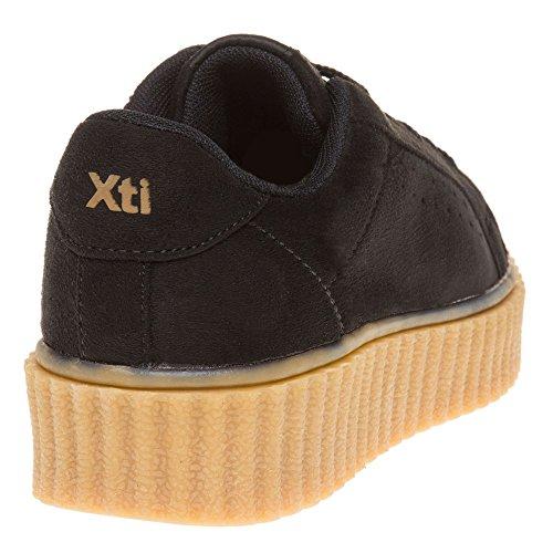 Xti 46102 Donna Sneaker Nero Nero
