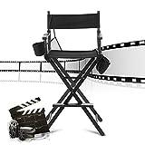 Profesional Silla Plegable de Esteticista, Maquilladores de Belleza y Directores de Cine, Actores o Personal de Madera