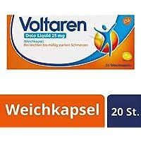 Voltaren Dolo Liquid 25 mg Weichkapseln mit Diclofenac, 20 St. preisvergleich bei billige-tabletten.eu