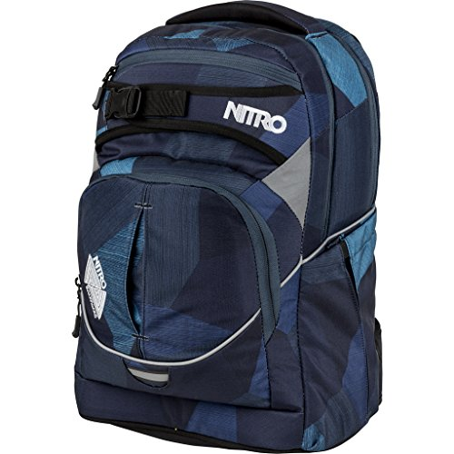 Nitro Snowboards 2018 Sac à Dos Loisir, 44 cm, 30 liters, Bleu (Fragments Azul)