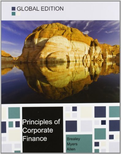 Principles of Corporate Finance by Brealey, Richard A. (2013) Paperback