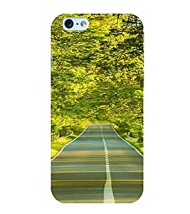 ifasho Designer Back Case Cover for Apple iPhone 6S (Road Scenary Tianjin China Ludhiana)