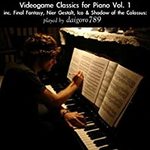 Videogame Classics for Piano Vol 1 inc. Final Fantasy, Nier Gestalt, Ico & Shadow of the Colossus